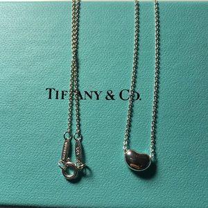 Tiffany 9mm Elsa bean necklace
